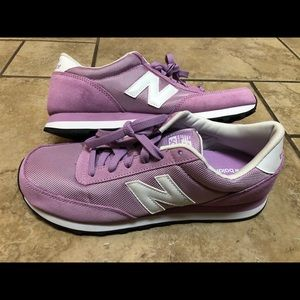 New Balance Classic 501 Womens Pink Sneaker shoes